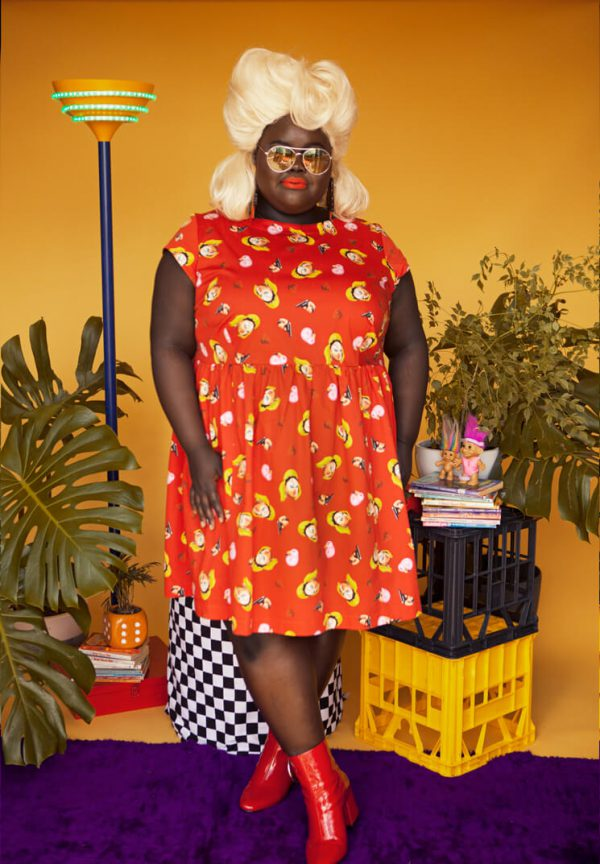 Cute Plus Size Dresses from Australian Indie Label Cutting Shapes Club - Fat Threads for Dope Babes